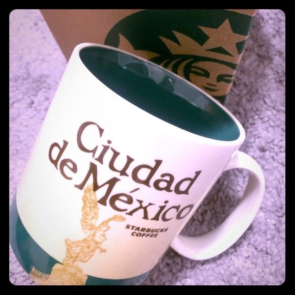 Starbucks Ciudad de Mexico Mug- New